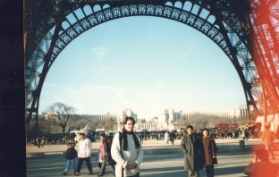 An old photo from a trip to Paris