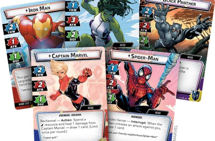 Marvel Champions from Fantasy Flight Games