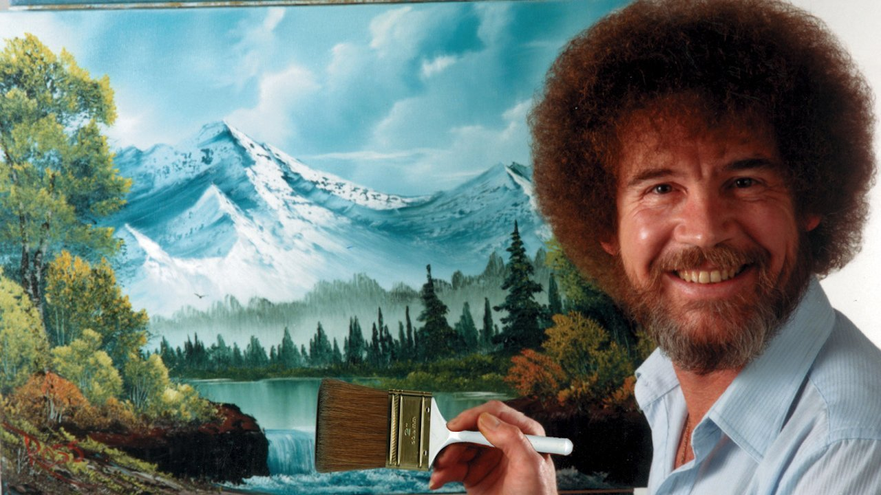 How Bob Ross saved my sanity