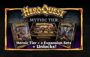 HeroQuest crowdfunding release mythic tier