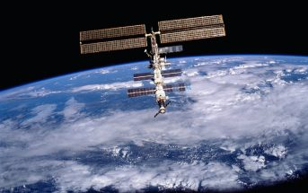 ISS photo from mission STS-105