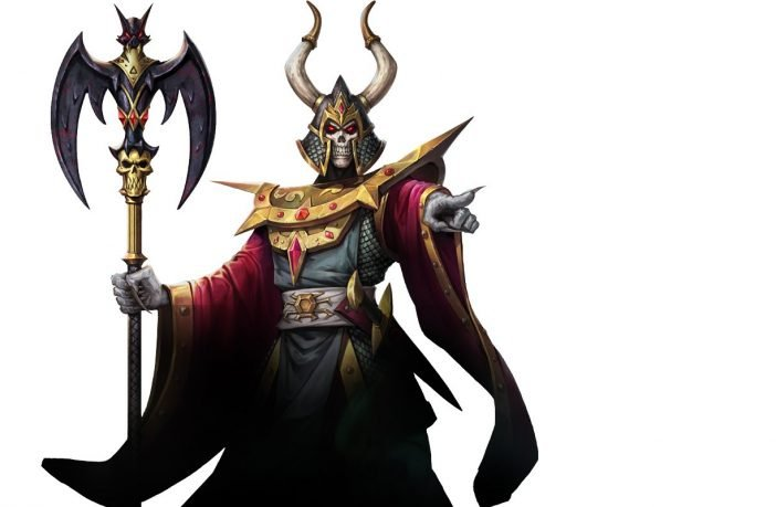 HeroQuest Witch Lord art