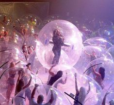 The Flaming Lips take the quarantine bubble literally with unique live show