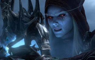 Sylvanas Windrunner with the Helm of Domination